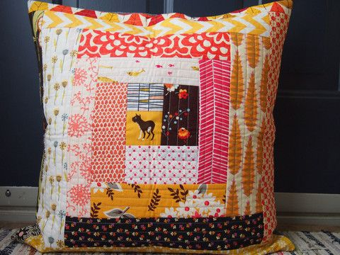 Quilt-As-You-Go Log Cabin Pillow Cover - Adult - August 18th, 6:30 - 9 – WAFFLE KISSES STUDIO