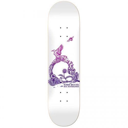 Real Skateboards Real Robbie Brockel Badlands HeavyWeights Deck  8.4x32