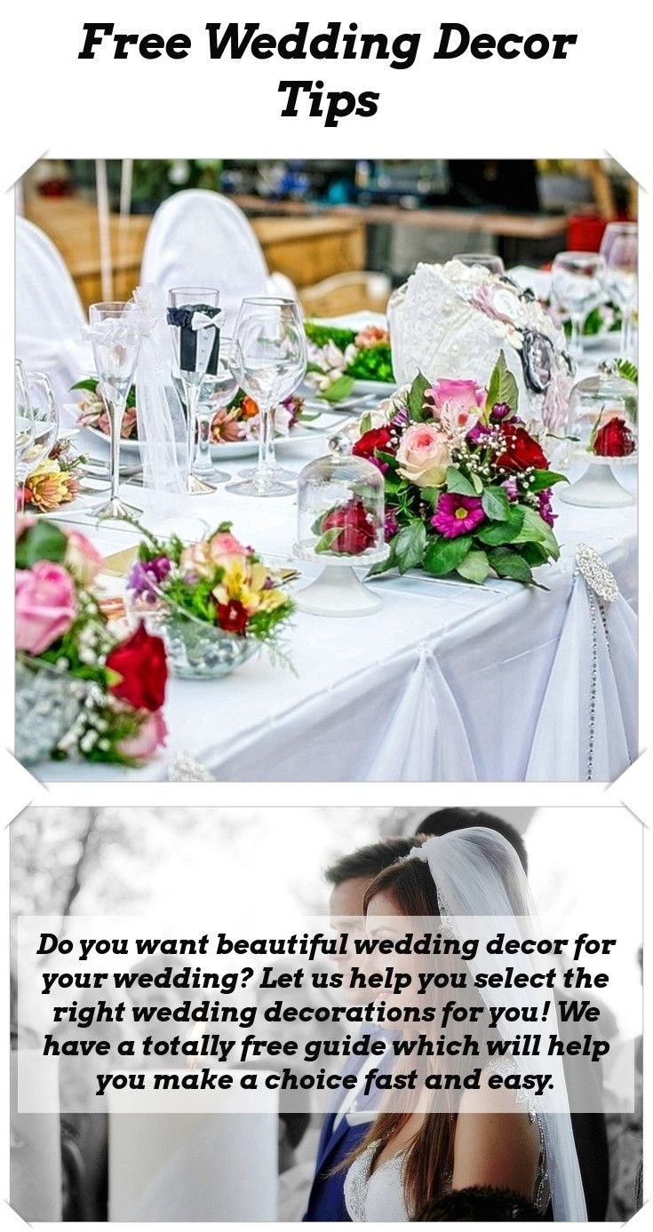 68dce382bf8 Simple wedding decorations hacks - Are having lovely wedding decorations  important to you  Let us help you choose the right wedding decor for you!  The Free ...