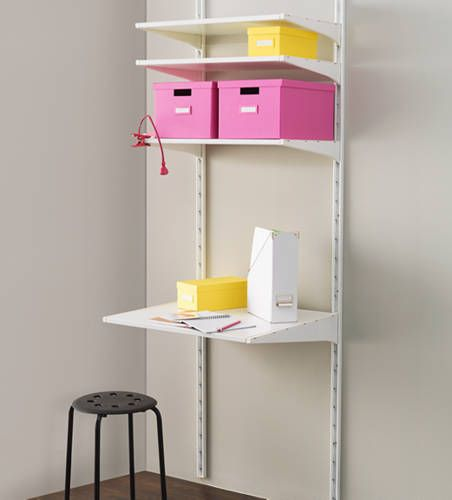 IKEA Catalog 2015 --ALGOT wall system