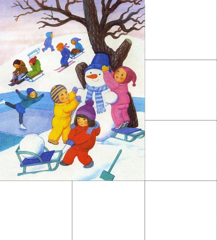 Картинки времена года для детей | Детское развитие steshka.ru ( zima)