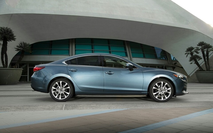 2014 Mazda 6 -I'd even buy this color :) White, silver or the blackcherry would sure make a hard choice!!!