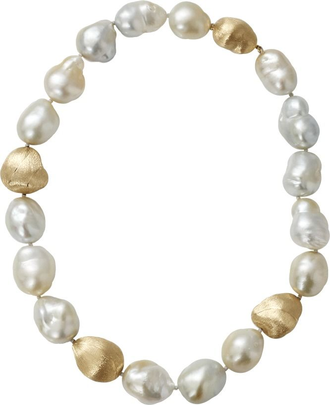 YVEL Baroque Pearl Necklace | ≼❃≽ @kimludcom