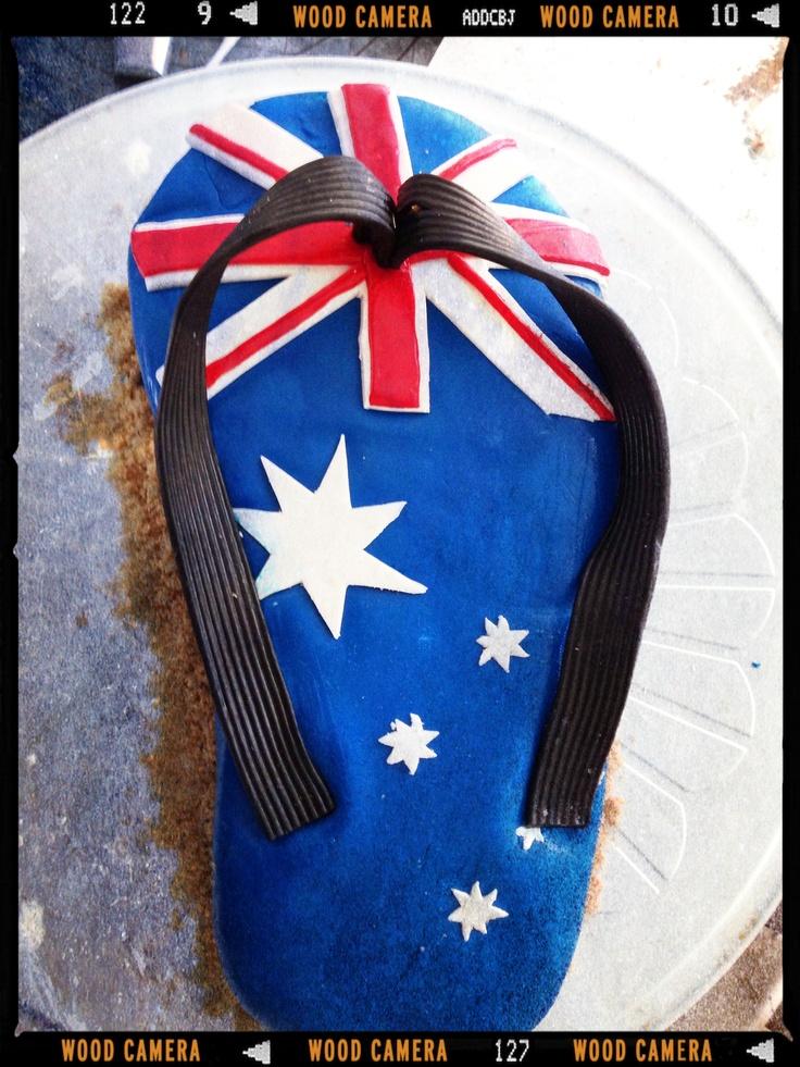 Aussie Day Cake