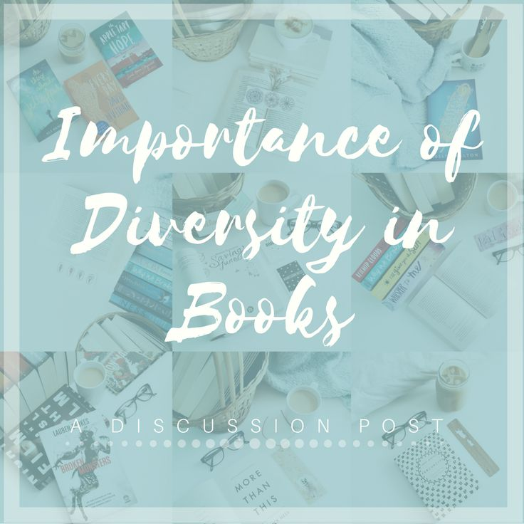 IMPORTANCE OF DIVERSITY IN BOOKS