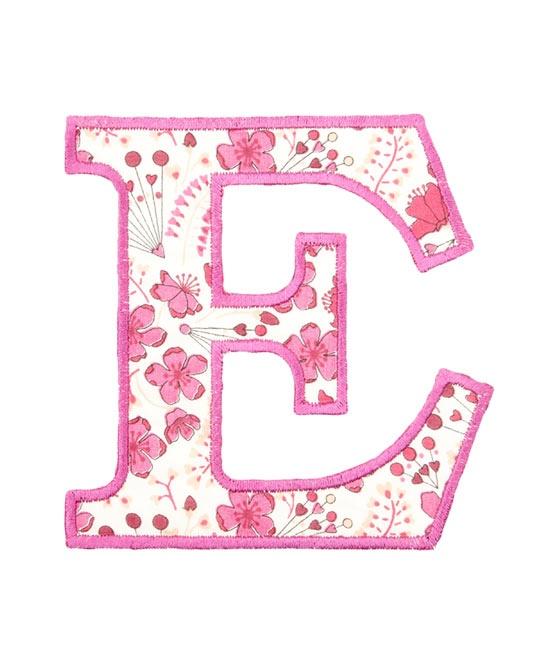 Pretty Letter E