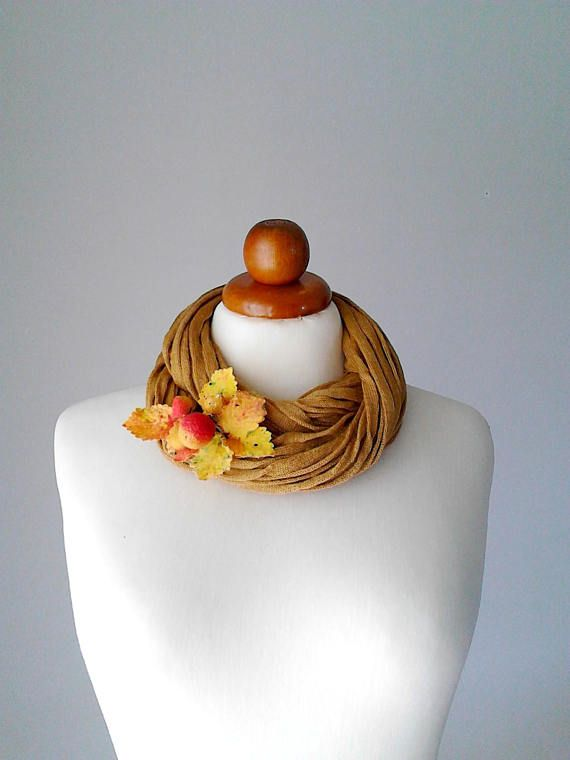 Autumn Necklace Fall leaves Leaf Necklace Fashion jewelry