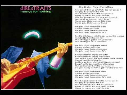 Dire Straits - Money For Nothing music video (Good quality, all countries) - YouTube