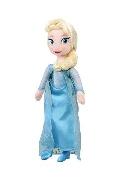 Frozen Elsa-pehmo. Sisältää 1 Elsa-nuken. 25 cm.