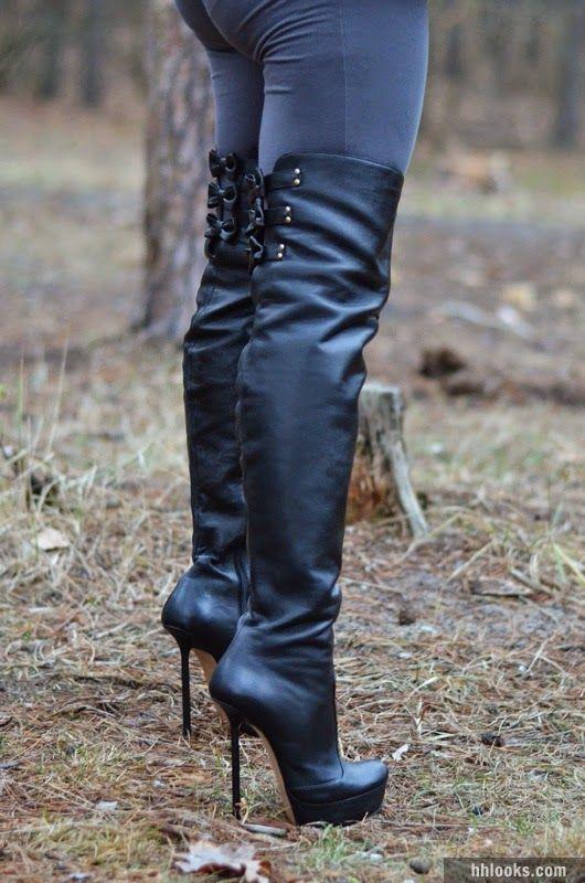 Especial botas largas de temporada   Atractivas botas de mujer