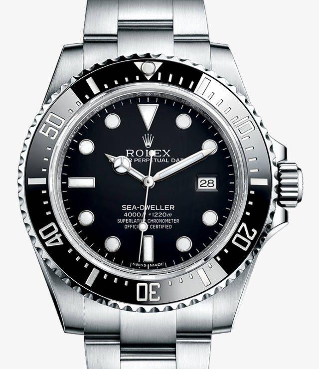 Rolex Sea-Dweller 4000 Watch - Rolex Swiss Luxury Watches