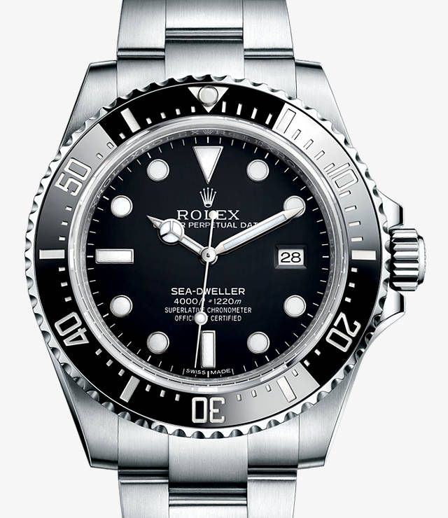 Sea-Dweller 4000 Watch: 904L steel - 116600