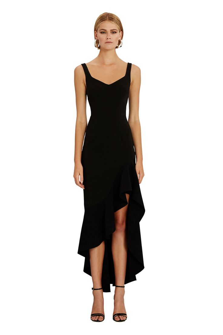BY JOHNNY. V-Neck Wave Gown | Pre-Order | Contemporary Australian Womenswear