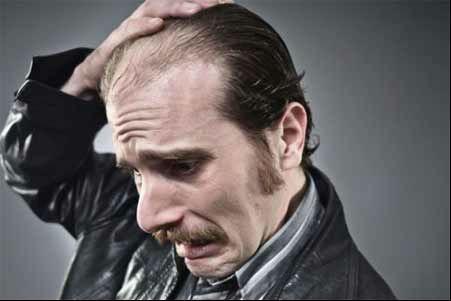 Summer hair problems in men