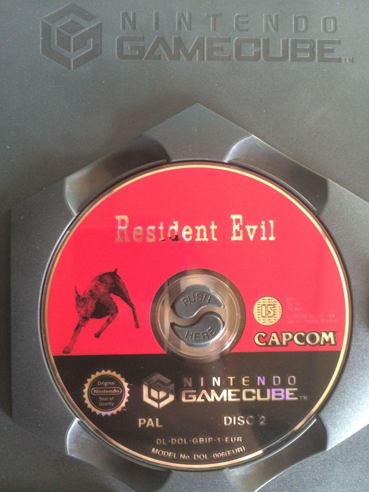 Resident Evil game disc 2.