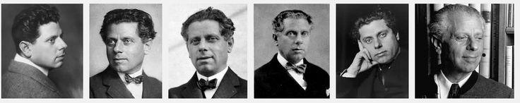 """Max Reinhardt: Nació en 1873 y murió en Nueva York en 1943.  Pasa la importancia de lo """"declarado""""(teatro de Shakespeare) a centrarse en el todo (actor, vestuario, escenografía, iluminación) y en sacar el potencial el actor! Hijo de un comerciante judío, estudió Economía en Salburgo y Dramaturgia en Viena.  Dirigió la compañía teatral Deutsches Theater"""