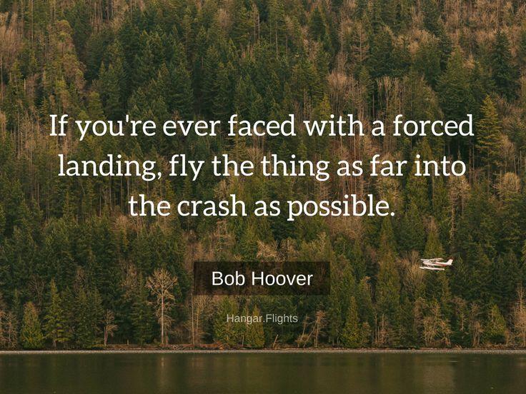 Bob Hoover, a true aviation legend.