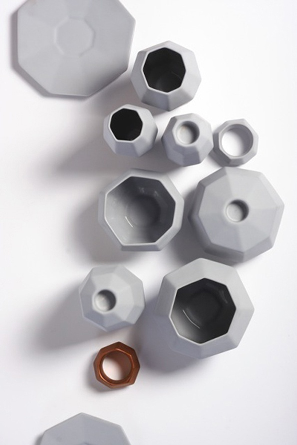 candystorecollective.com >> Grey ceramics vase objects