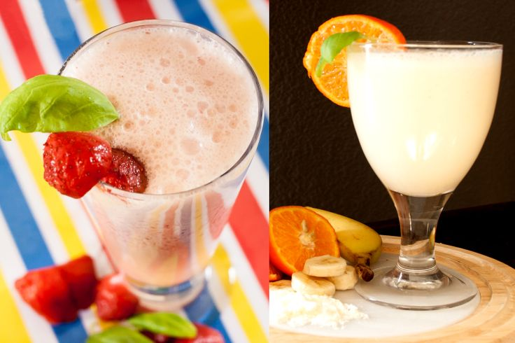 Homemade Meal Replacement Drinks