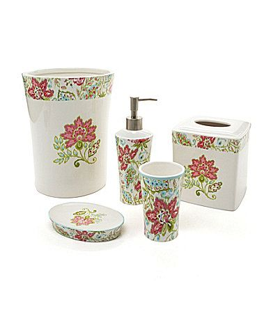 Dena home ikat bath accessories dena home at dillard 39 s pinterest products home and for Dillards bathroom accessories sets