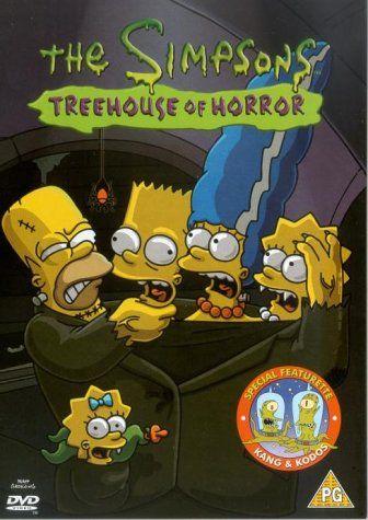 The Simpsons: Treehouse of Horror [DVD] [1990]: Amazon.co.uk: Dan Castellaneta, Nancy Cartwright, Julie Kavner, Yeardley Smith, Harry Shearer, Hank Azaria, Pamela Hayden, Tress MacNeille, Karl Wiedergott, Maggie Roswell, Marcia Wallace, Russi Taylor: DVD & Blu-ray