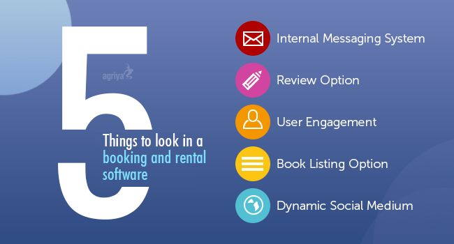 The booking and rental software provides exclusive features and functionality for the #entrepreneurs to create a effective booking website. There are five important features that an entrepreneur should look in a #bookingsoftware. Get to know more about the process of creating a booking site on, http://www.clonescripts.co/2015/07/5-things-to-look-in-booking-and-rental-software.html