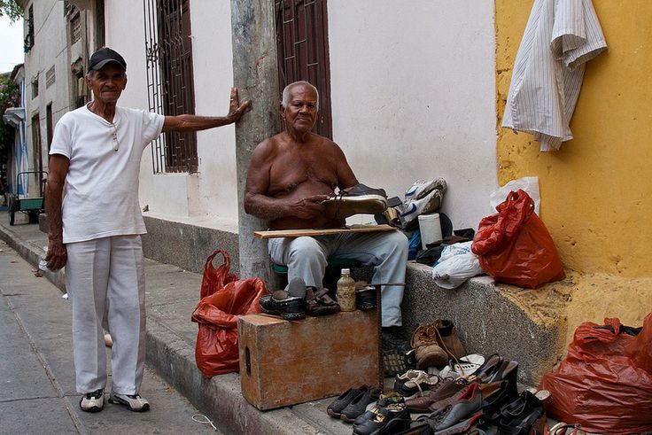 """People of Cartagena"", Cartagena, Colombia. March 2014."