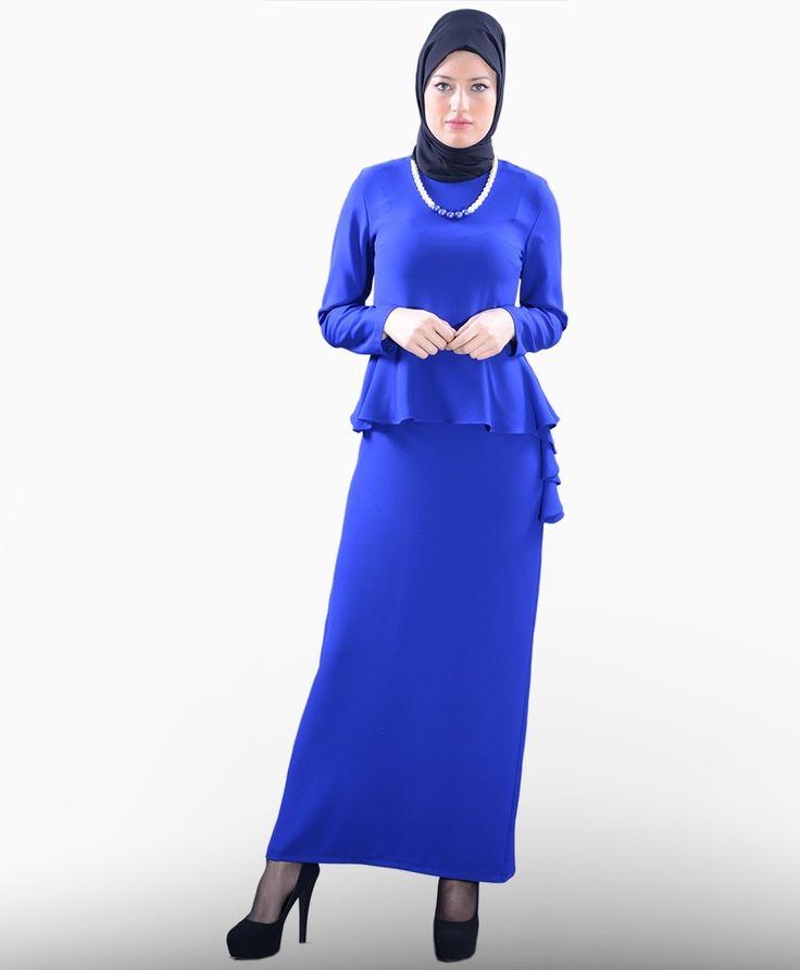 Beli Volanlı Elbise - SG693