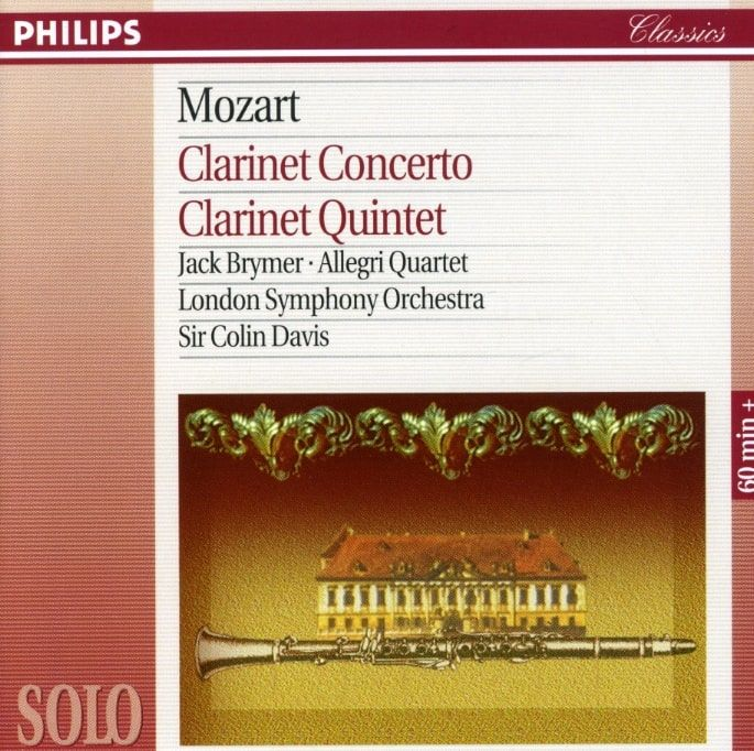 Precision Series London Symphony Orchestra - Mozart: Clarinet Concerto K.622, Clarinet Quintet K581