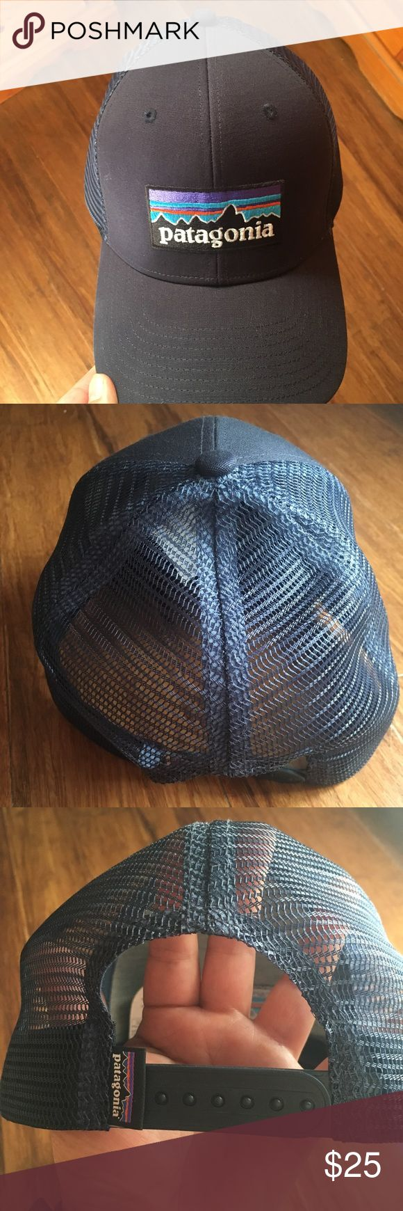 Patagonia SnapBack blue hat Used once Patagonia navy blue SnapBack hat. In really good condition. Patagonia Accessories Hats