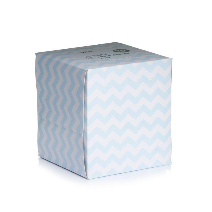 Wilko Facial Tissues Cube 2ply