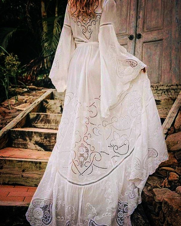Traditional Boho Wedding Dress