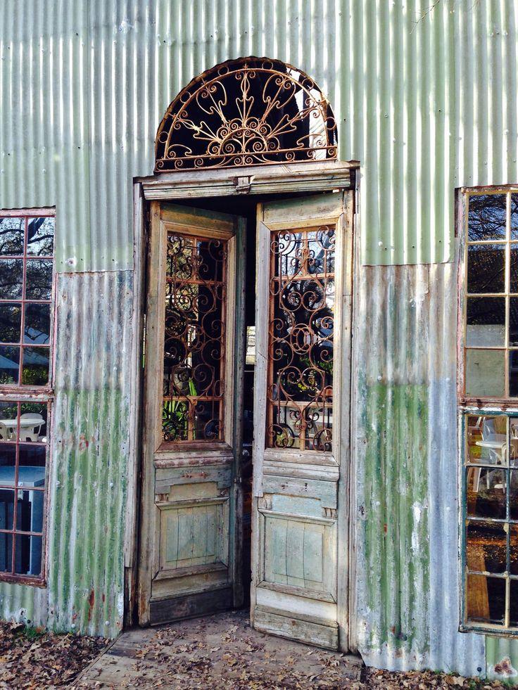 Beautiful door, Simondium, Franschhoek