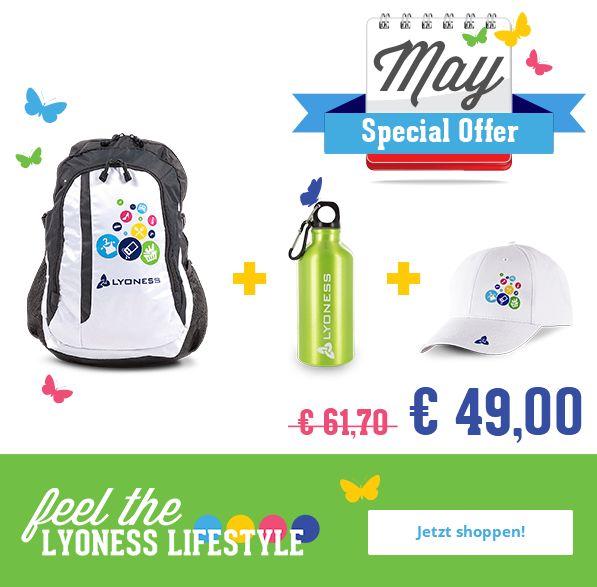 #Lyoness Store Set um € 49,- unter www.lyoness-store.com