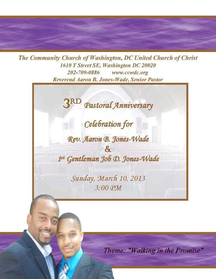 Black Gay Church Alert: 3rd Pastoral Anniversary of Pastor ...