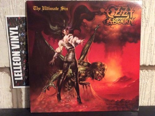 Ozzy Ozbourne The Ultimate Sin LP Album Vinyl Record 26404 Rock 80's Music:Records:Albums/ LPs:Metal:Heavy Metal