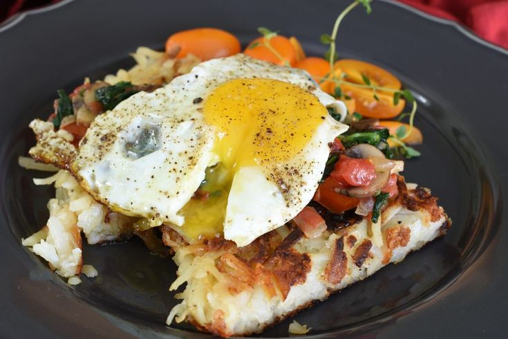 Potato Rosti Recipe from farmhousekitchensandfrenchpears.com