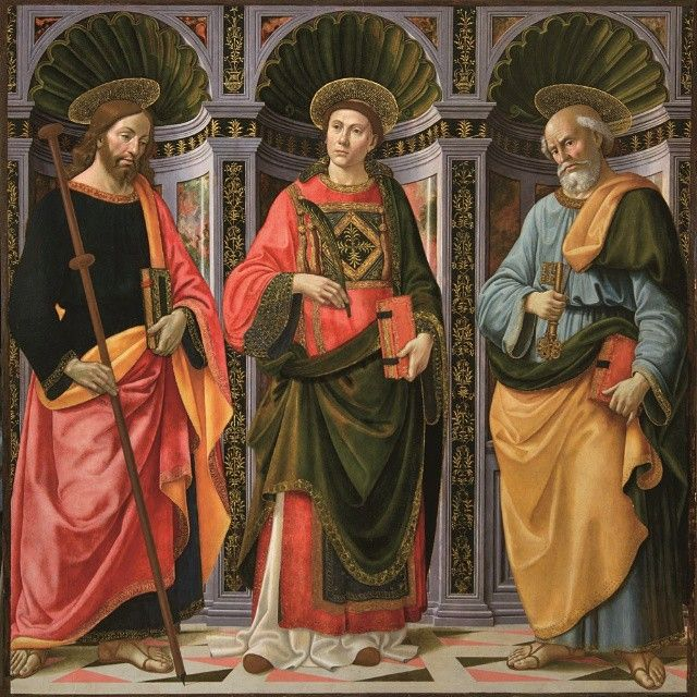 Make sure to check out Ghirlandaio's newly restored painting at the Galleria dell' Accademia before it travels to Tokyo at the end of this month!