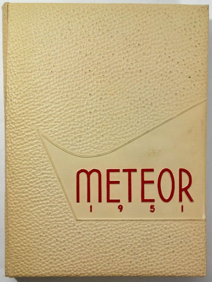 1951 La Sierra College Arlington California Original Yearbook Annual Meteor