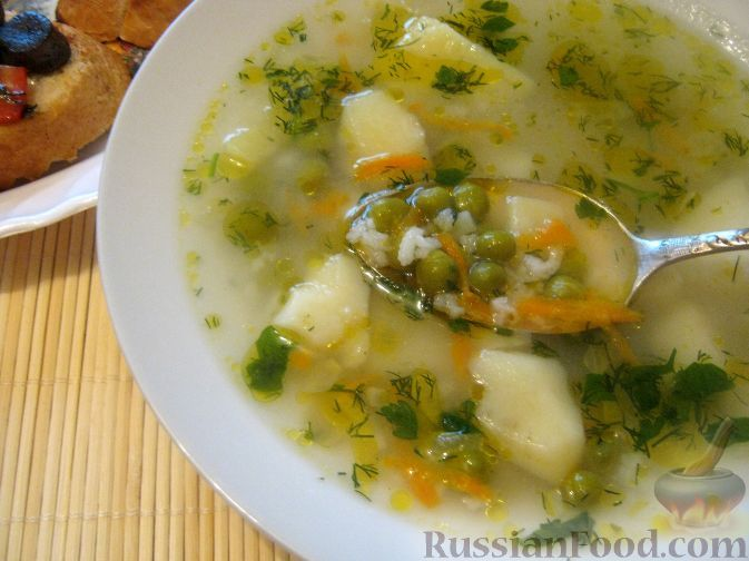 Фото приготовления рецепта: Сытный рисовый суп - шаг №10