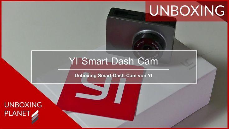 Video mit Unboxing der YI Smart-Dash-Cam Kamera für das Auto #unboxing #yi #smartdashcam #kamera