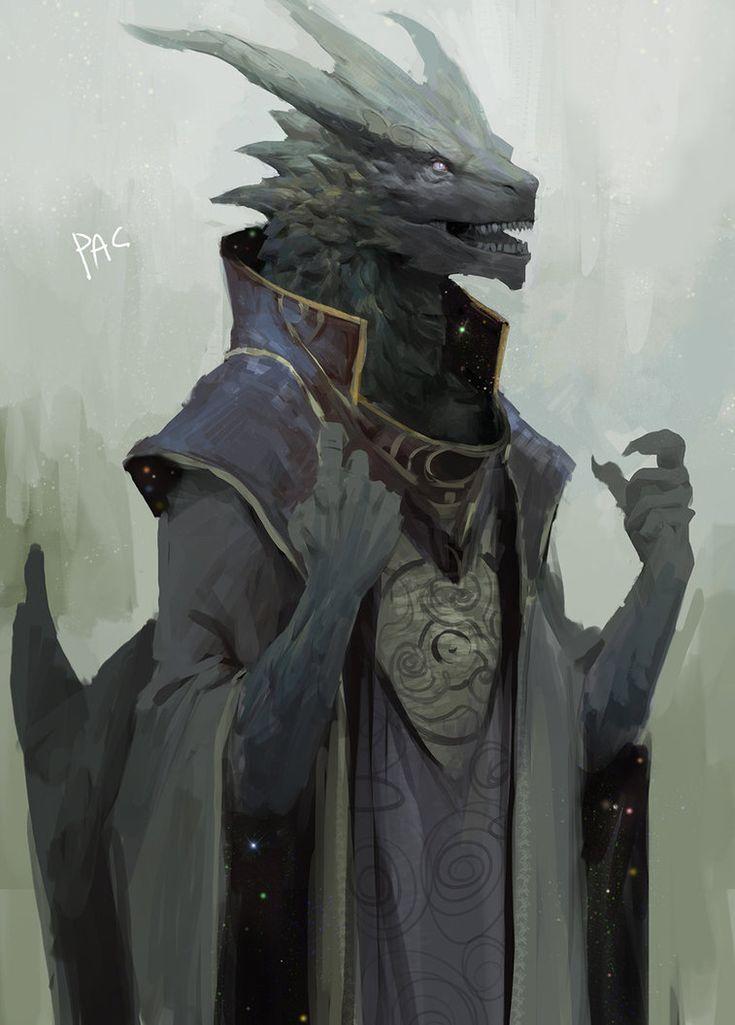 Dragon Starpriest by Pacelic on DeviantArt