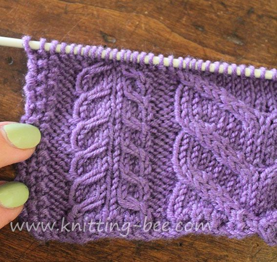 Cable Lace Knitting Stitches : 226 best images about ??????? ????? ???????? ???? on Pinterest Cable, Lace ...