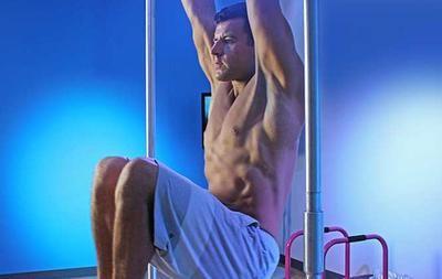 Perfect the Hanging Leg Raise: Men's Health.com