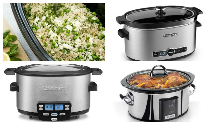 ATK slow cooker review  Best 6qt:  KitchenAid 6-Quart Slow Cooker Best 4qt:  Cuisinart 4-Quart Cook Central 3-in-1 Multicooker