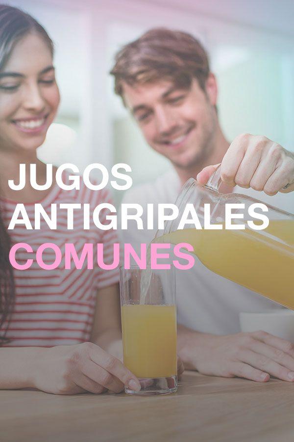 Jugos antigripales para la temporada Antigripsl