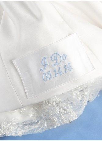 Wedding Dress Monogram