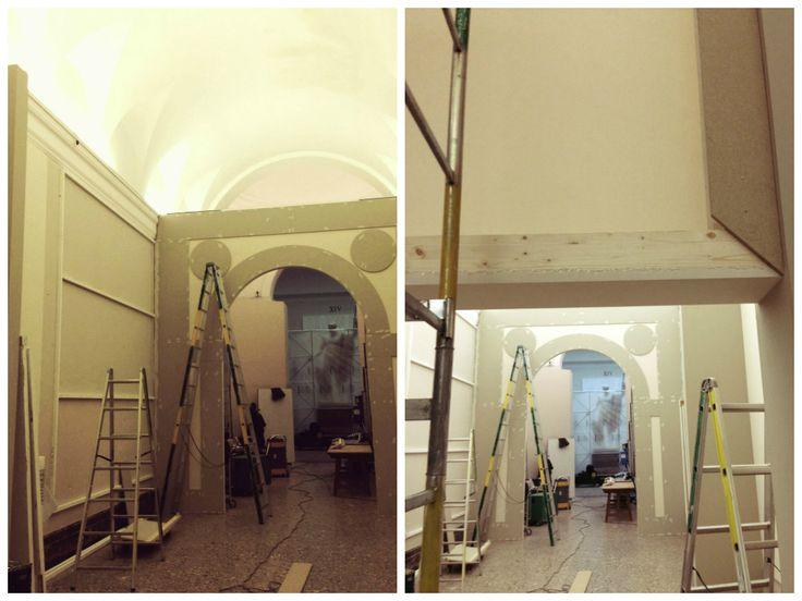 Quanto lavoro c'è dietro l'allestimento della mostra che la Pinacoteca ospiterà fino al 22 marzo?