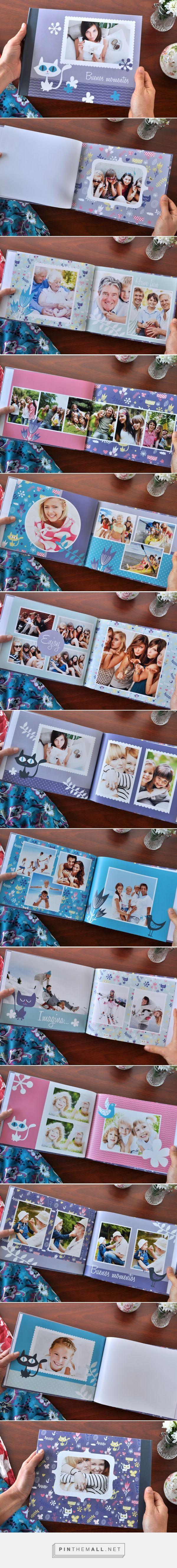 Sweet Cats es un fotolibro con un diseño divertido que podés usar para tu Book de 15, Anuario Famliar, con las fotos de los chicos o lo que quieras! Está diseñado en formato 27,9 x 21,6 cm con tapa dura y ya está listo para que puedas descargarlo y completarlo con tus propias fotos.| Blog - Fábrica de Fotolibros - created via http://pinthemall.net