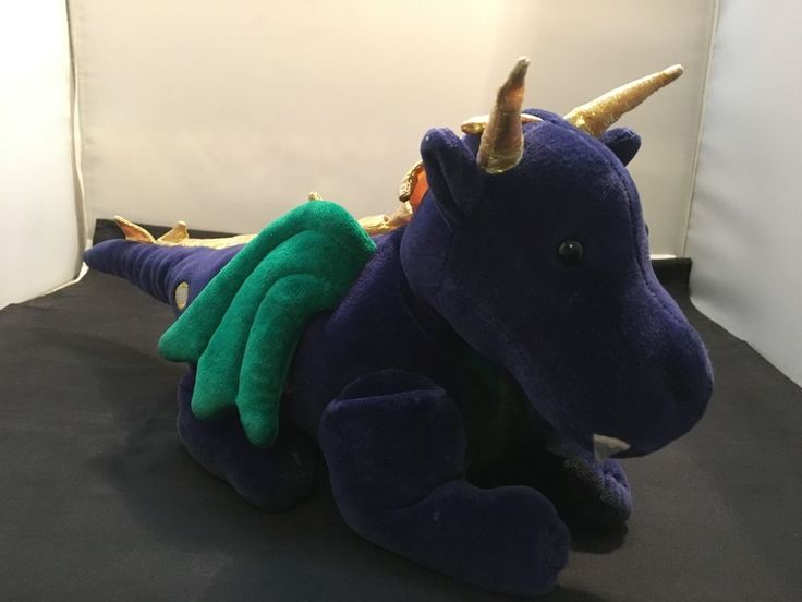 Vintage 1998 Dragon Stuffed Toy – The Manhattan Toy Company (D-4) in Toys, Hobbies, Stuffed Animals | eBay!